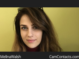 Webcam model MelinaWalsh from CamContacts