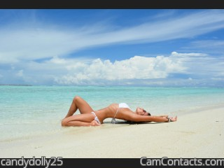 Webcam model candydolly25 from CamContacts