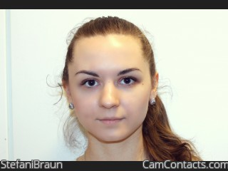 Webcam model StefaniBraun from CamContacts