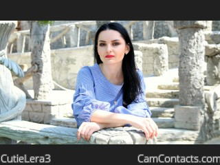 Webcam model CutieLera3 from CamContacts