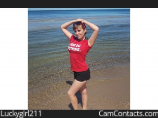 Webcam model Luckygirl211 from CamContacts