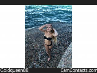 Webcam model Goldqueen88 from CamContacts
