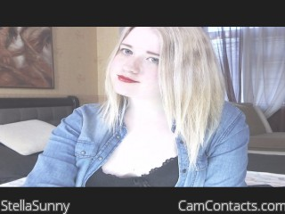 Webcam model StellaSunny from CamContacts