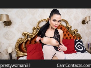 Webcam model prettywoman31 from CamContacts