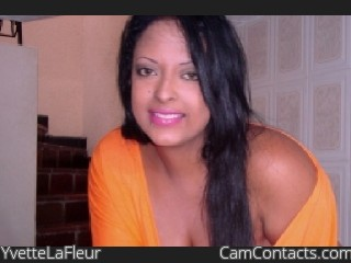 Webcam model YvetteLaFleur from CamContacts