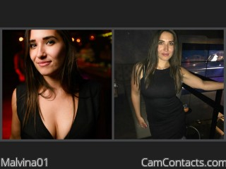 Webcam model Malvina01 from CamContacts