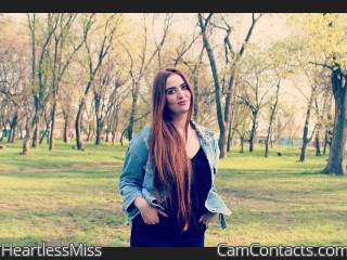 Webcam model HeartlessMiss from CamContacts