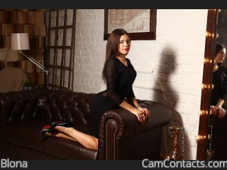 Webcam model Blona from CamContacts