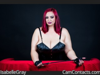 Webcam model IsabelleGray from CamContacts