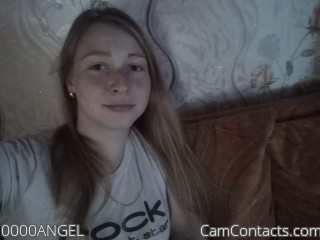 Webcam model 0000ANGEL from CamContacts