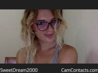 Start VIDEO CHAT with SweetDream2000
