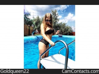 Webcam model Goldqueen22 from CamContacts