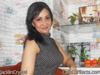 Webcam model JacklinCrystal from CamContacts