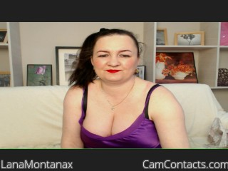 Start VIDEO CHAT with LanaMontanax
