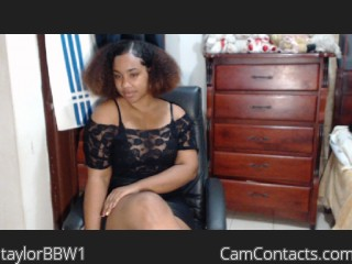 Start VIDEO CHAT with taylorBBW1