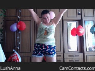 Start VIDEO CHAT with LushAnna