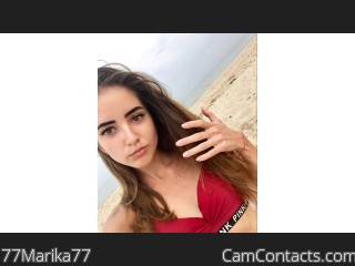 Webcam model 77Marika77 from CamContacts