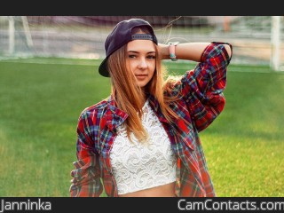 Webcam model Janninka from CamContacts