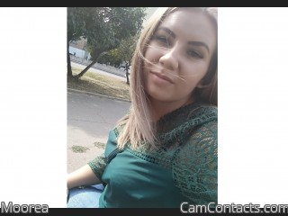 Webcam model Moorea from CamContacts