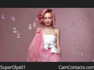 Webcam model SuperOlya01 from CamContacts