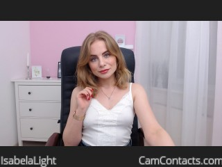 Start VIDEO CHAT with IsabelaLight