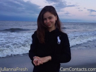 Webcam model JuliannaFresh from CamContacts