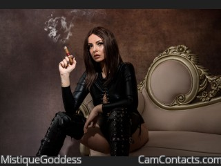 Start VIDEO CHAT with MistiqueGoddess