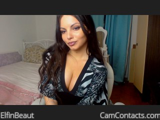 Webcam model ElfinBeaut from CamContacts