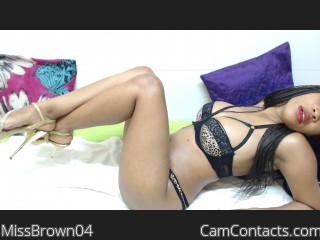 Start VIDEO CHAT with MissBrown04