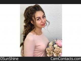 Webcam model 0SunShine from CamContacts
