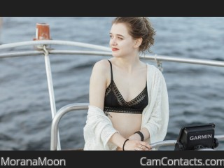 Webcam model MoranaMoon from CamContacts