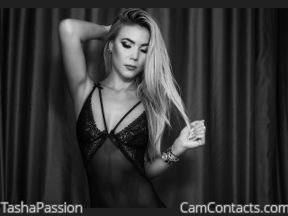 Webcam model TashaPassion from CamContacts
