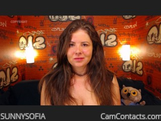 Webcam model SUNNYSOFIA from CamContacts
