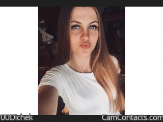 Webcam model 00Dichek from CamContacts