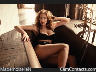 Webcam model MademoiselleN from CamContacts