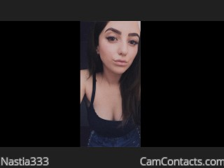 Webcam model Nastia333 from CamContacts