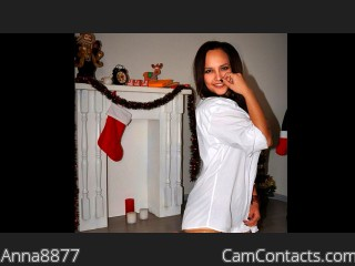 Webcam model Anna8877 from CamContacts
