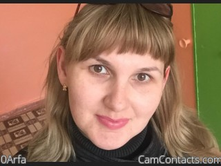 Webcam model 0Arfa from CamContacts