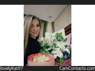 Webcam model lovelyKat97 from CamContacts