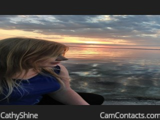 Webcam model CathyShine from CamContacts