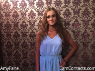 Webcam model AmyFane from CamContacts
