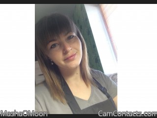 Webcam model MashaOMoon from CamContacts