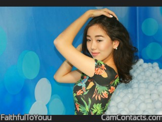 Webcam model FaithfulToYouu from CamContacts