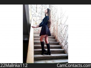Webcam model 22Malinka112 from CamContacts