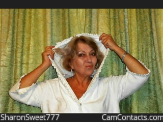 Webcam model SharonSweet777 from CamContacts