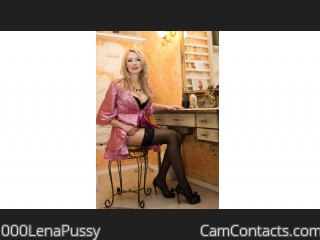 Webcam model 000LenaPussy from CamContacts