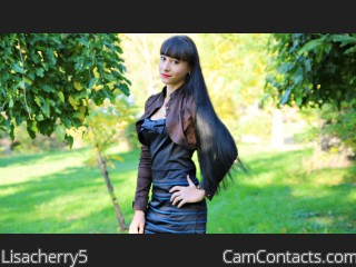 Webcam model Lisacherry5 from CamContacts