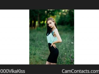 Webcam model 000VikaKiss from CamContacts