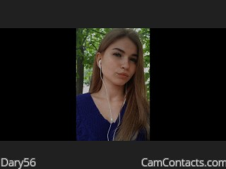 Webcam model Dary56 from CamContacts