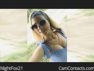 Webcam model NightFox21 from CamContacts